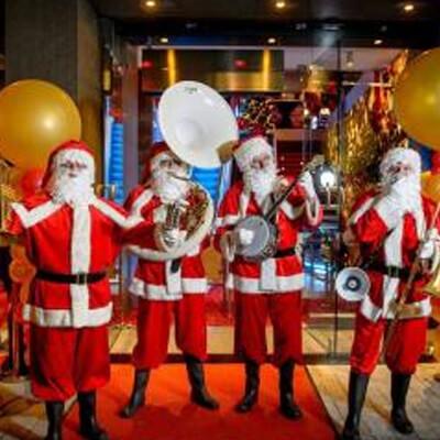 Kerstmannen Dixieband