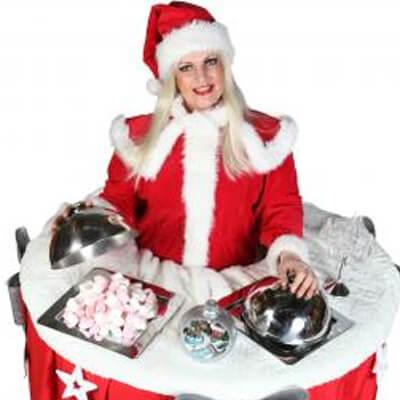 Walking Christmas Table