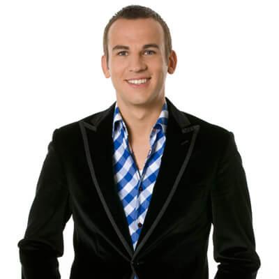 Presentator Kevin Brouwer
