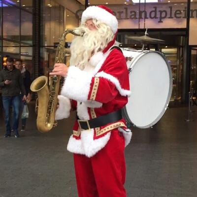 Muzikale Mobiele Kerstman